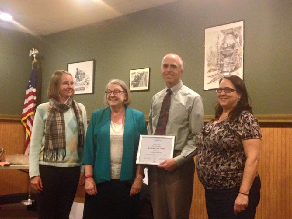 Giles County accepts award